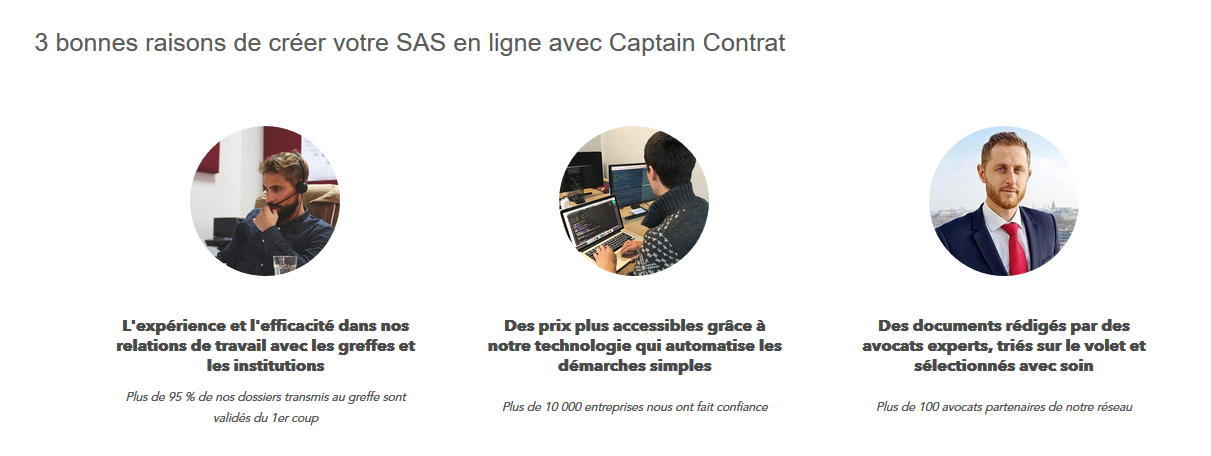 Captain Contrat avis clients