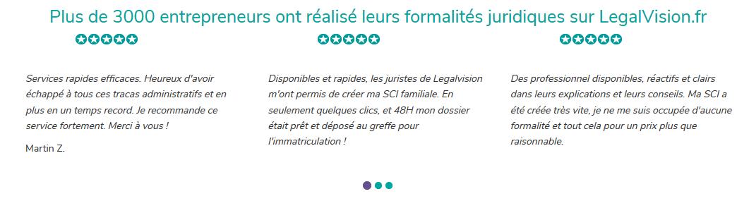 legalvision avis clients