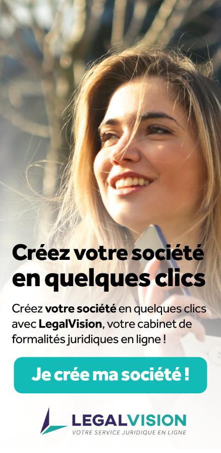 legal vision créer entreprise